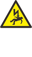 Danger of Death Health and Safety Sign
