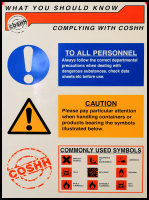 COSHH Health and Safety Notice