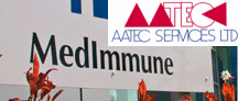 AATEC Services contract for MedImmune